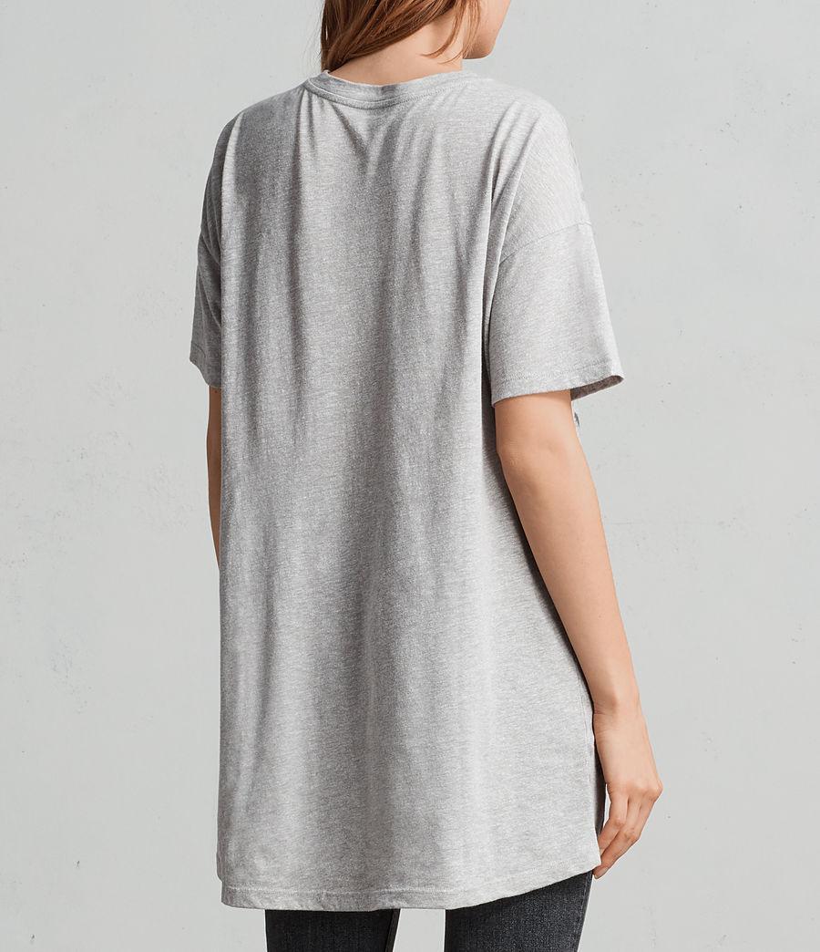 Women's Sabre Cori T-Shirt (grey_marl) - Image 3