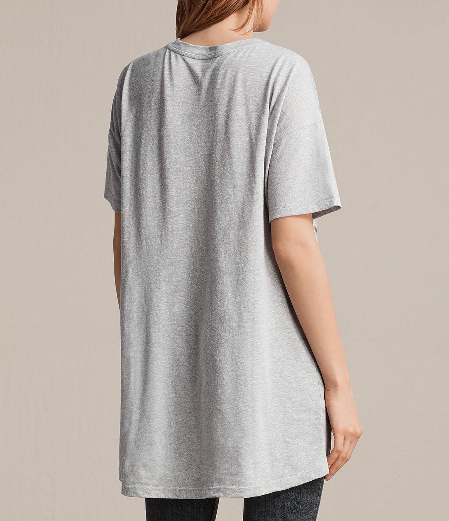 Women's Sabre Cori T-Shirt (grey_marl) - Image 4