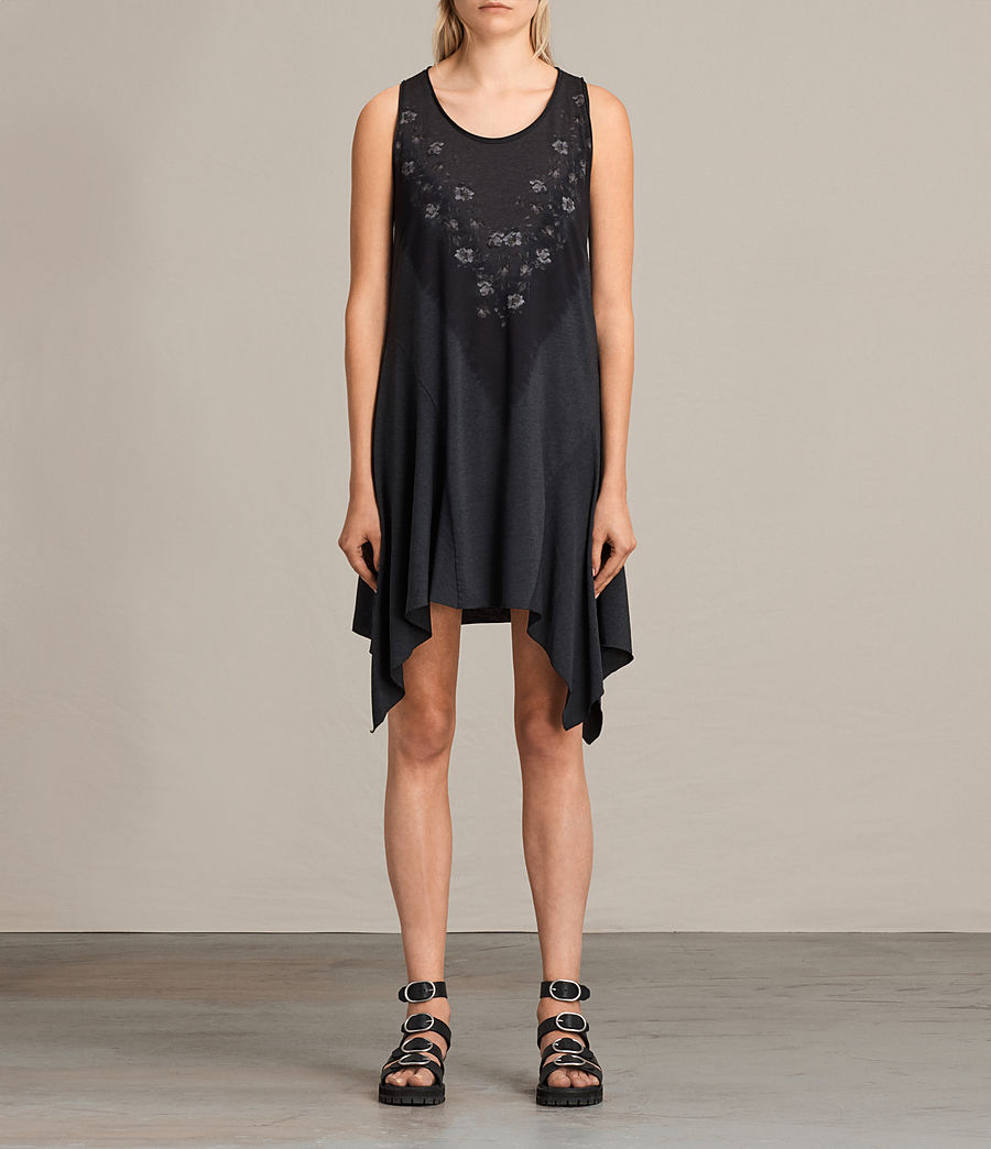Damen Tany Loire Dress (dark_night_blue) - Image 1