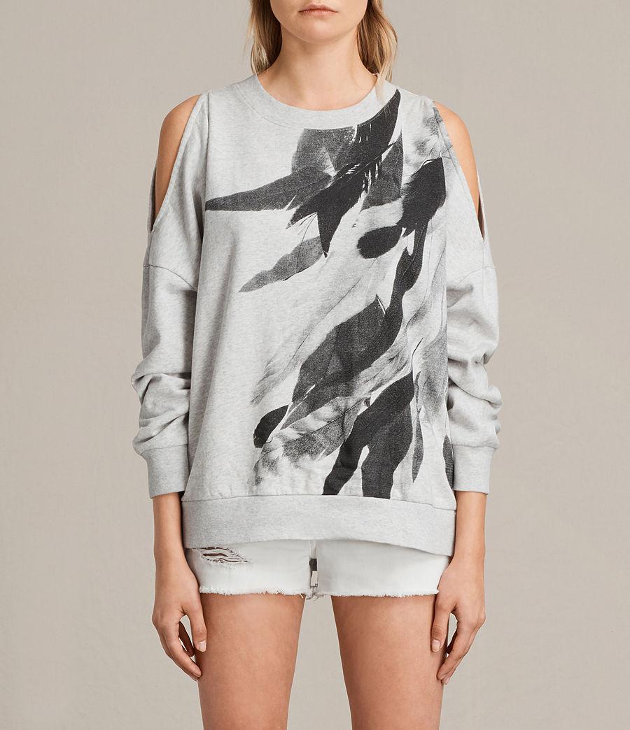 Womens Wing Unai Sweatshirt (light_grey_marl) - Image 1