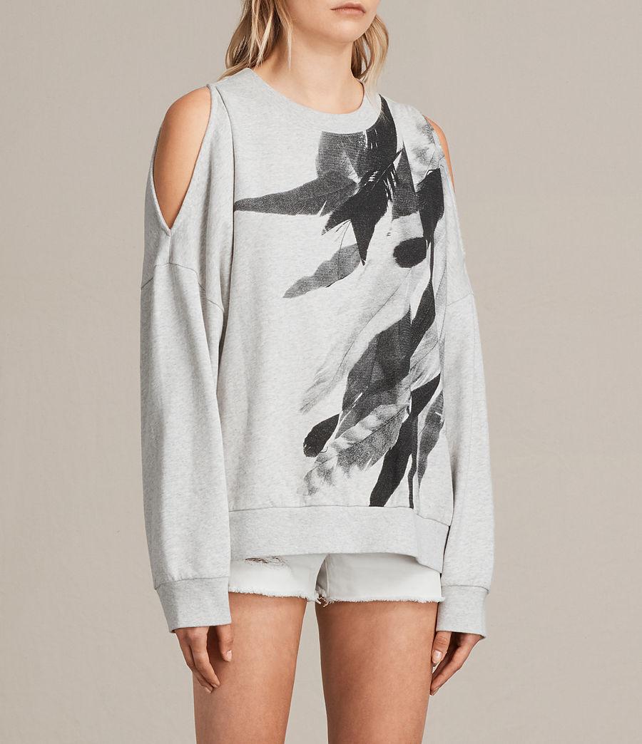 Womens Wing Unai Sweatshirt (light_grey_marl) - Image 3
