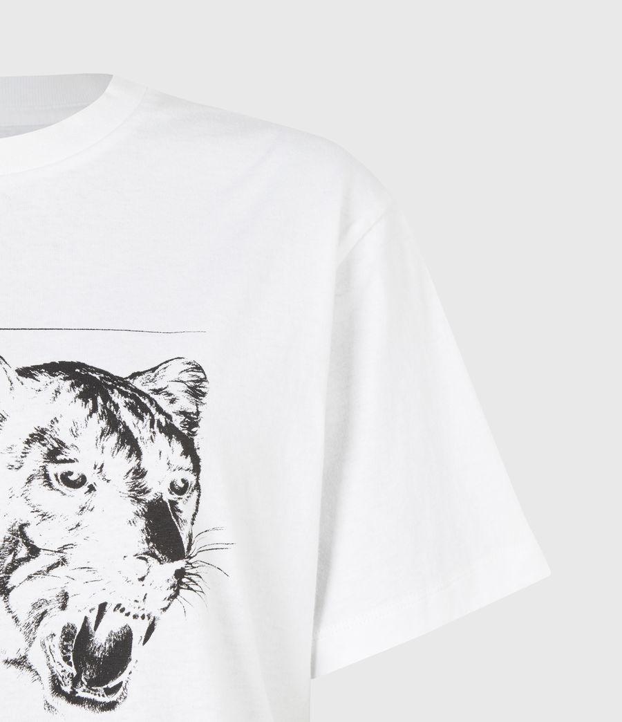 Women's Panthera Boyfriend T-Shirt (optic_white) - Image 5