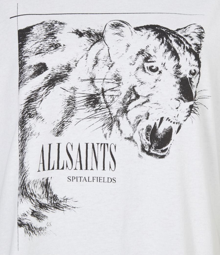 Women's Panthera Boyfriend T-Shirt (optic_white) - Image 6
