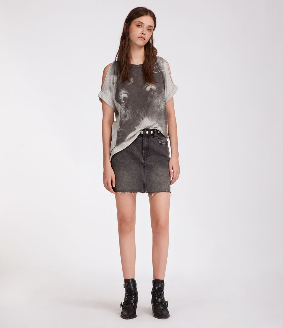 Donne T-shirt Kit Cora (light_grey_marl) - Image 1