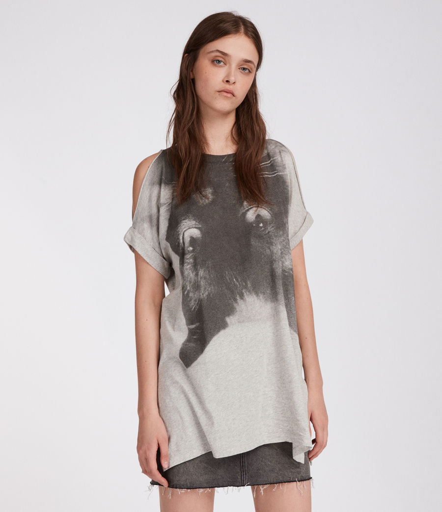 Donne T-shirt Kit Cora (light_grey_marl) - Image 2