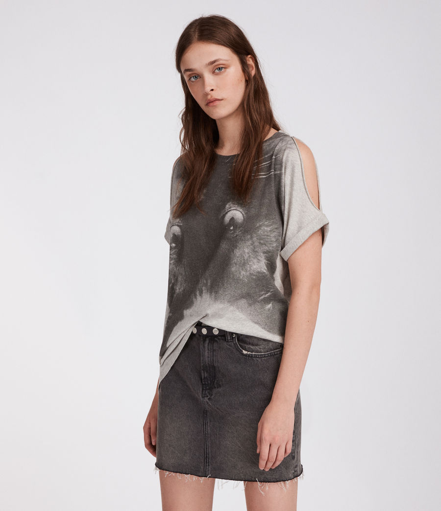 Donne T-shirt Kit Cora (light_grey_marl) - Image 4