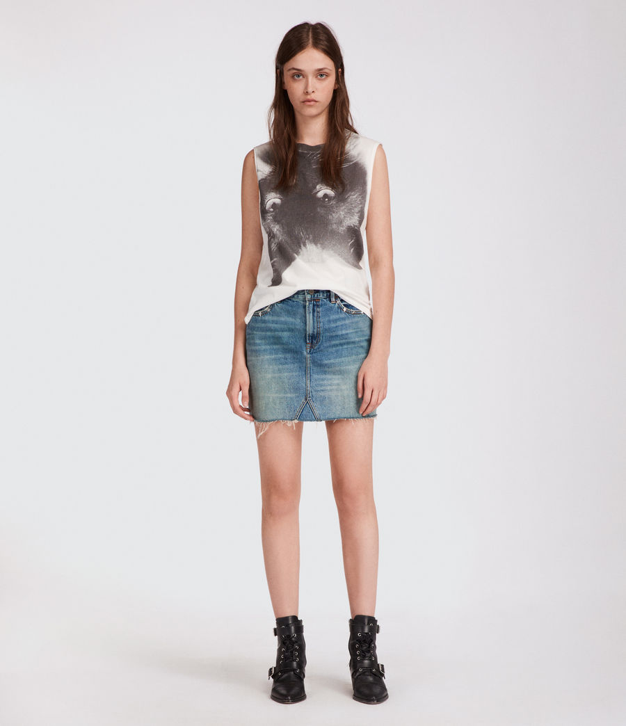 Women's Kit Elm Tank (chalk_white) - Image 1