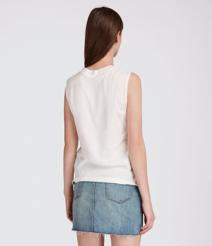 Women's Kit Elm Tank (chalk_white) - Image 3