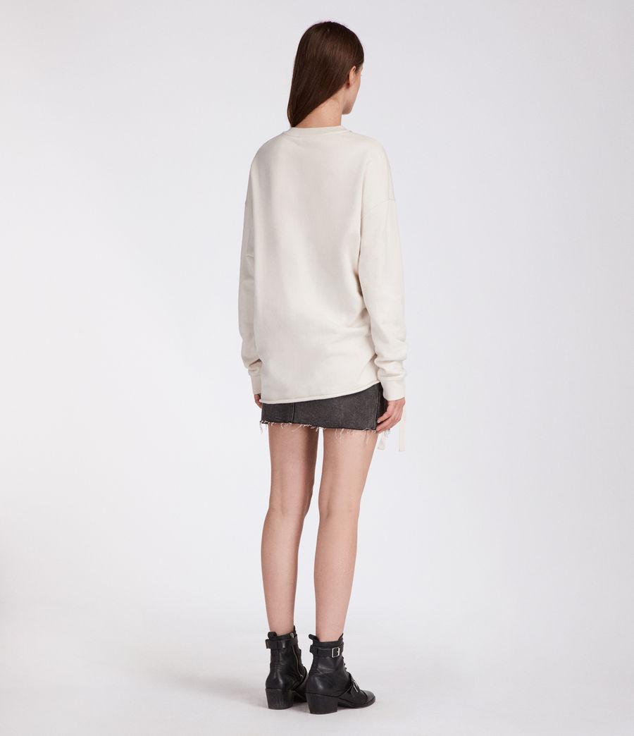 Women's Kit Able Sweatshirt (ivory_white) - Image 3