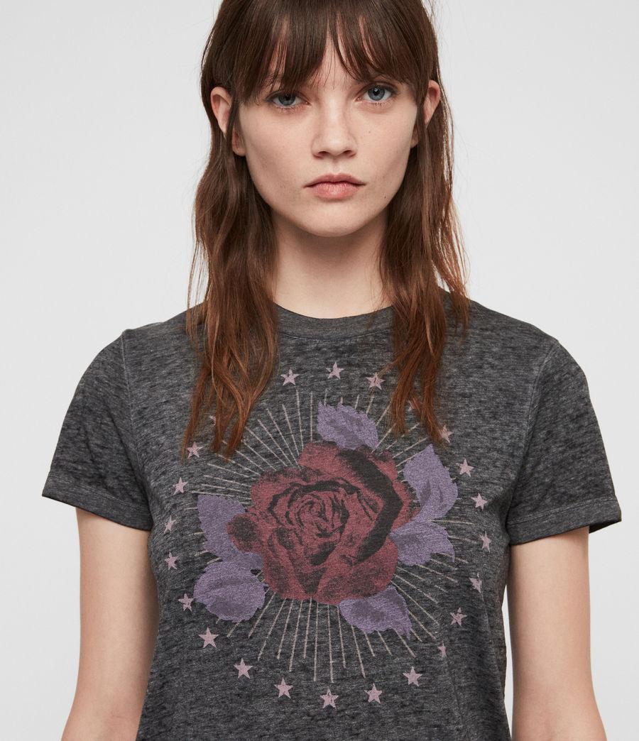 Mujer Eden Imogen T-Shirt (ash_black) - Image 2