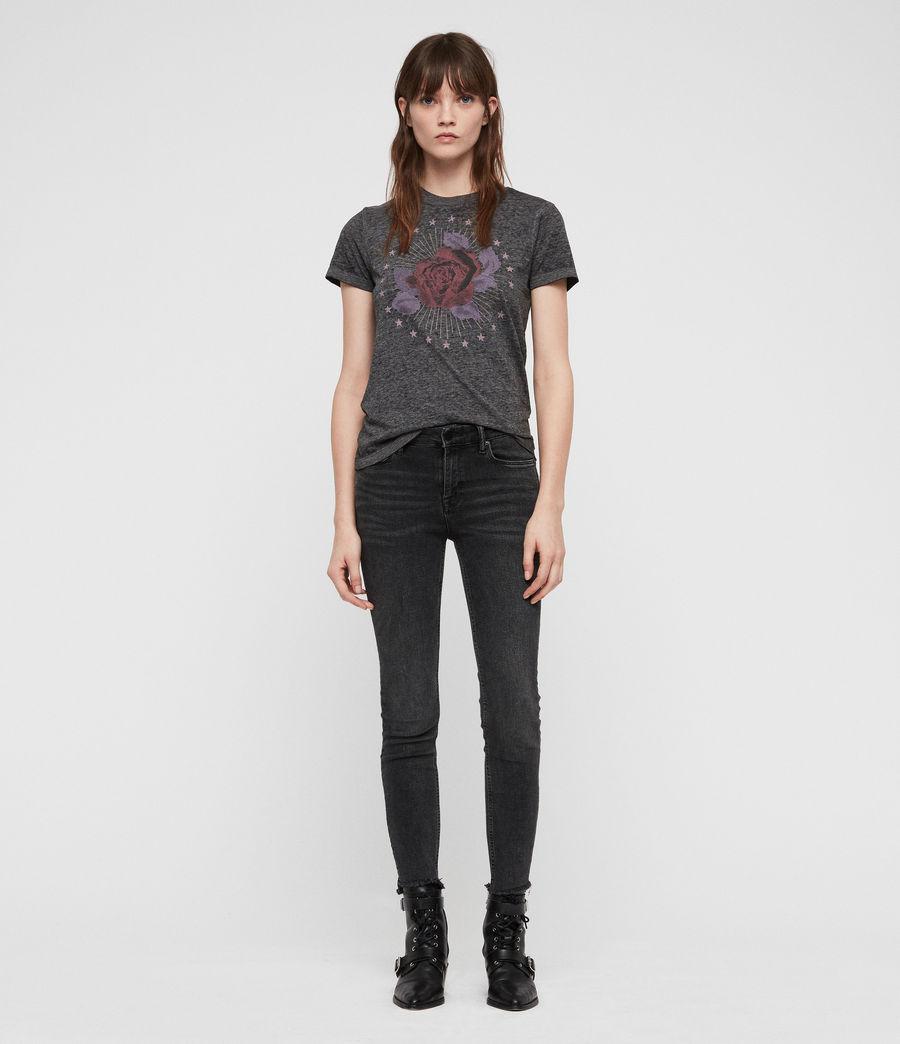 Mujer Eden Imogen T-Shirt (ash_black) - Image 3