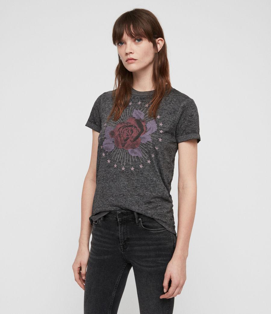 Mujer Eden Imogen T-Shirt (ash_black) - Image 4