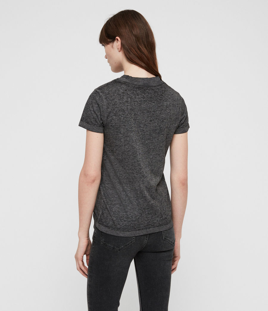 Mujer Eden Imogen T-Shirt (ash_black) - Image 5
