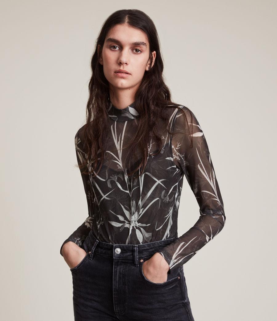 Women's Rutland Elia Bodysuit (black) - Image 2