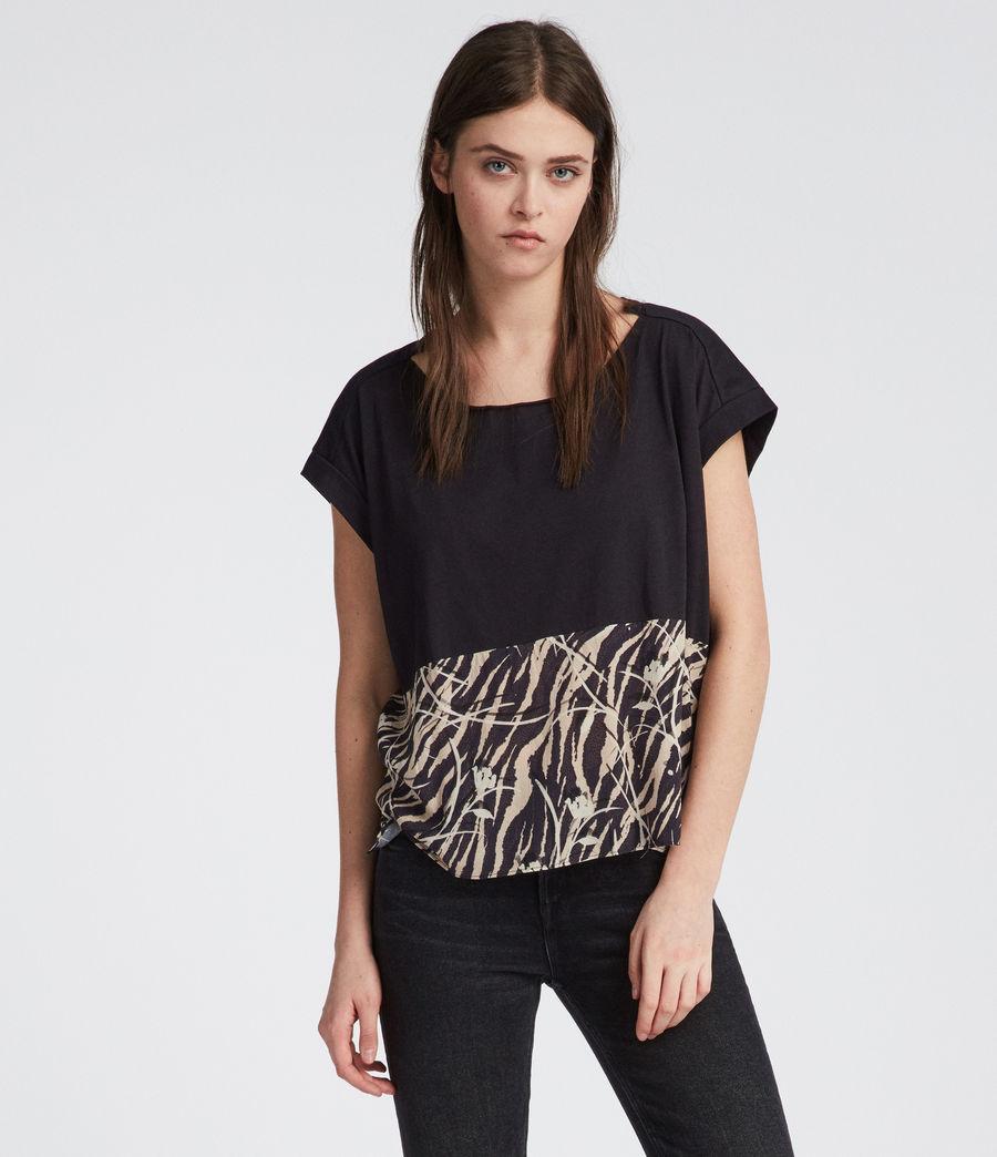 Women's Kazuno Pina T-Shirt (black) - Image 2