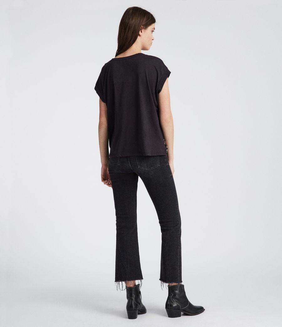 Women's Kazuno Pina T-Shirt (black) - Image 4