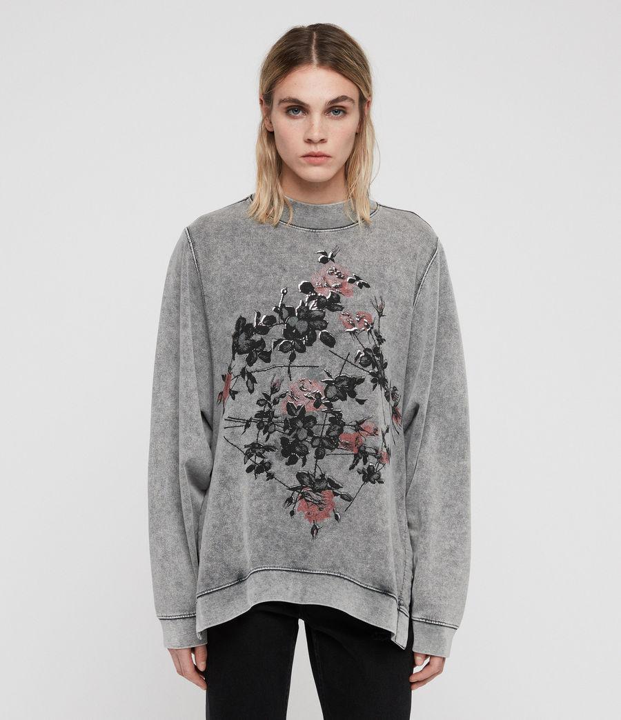 Womens Syner Leti Frieda Sweatshirt (grey) - Image 1