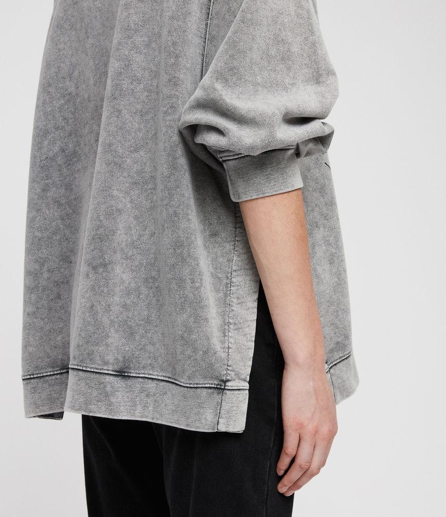 Womens Syner Leti Frieda Sweatshirt (grey) - Image 2