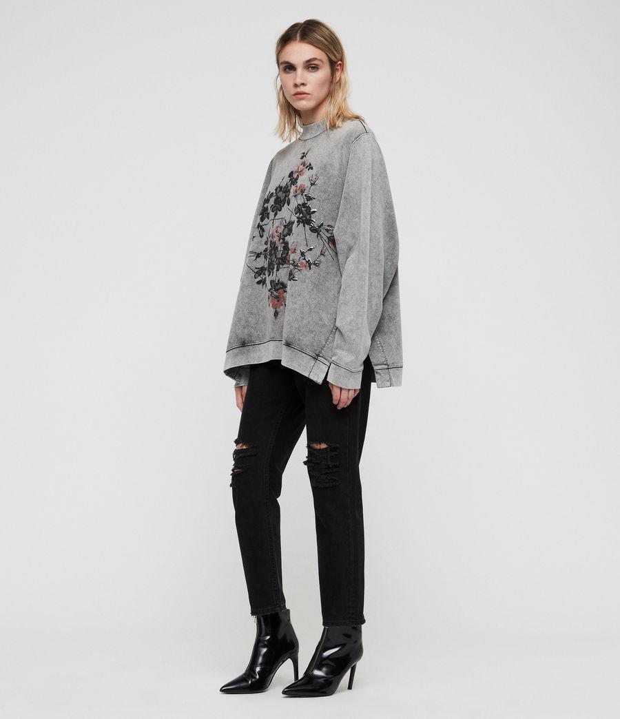 Women's Syner Leti Frieda Sweatshirt (grey) - Image 3