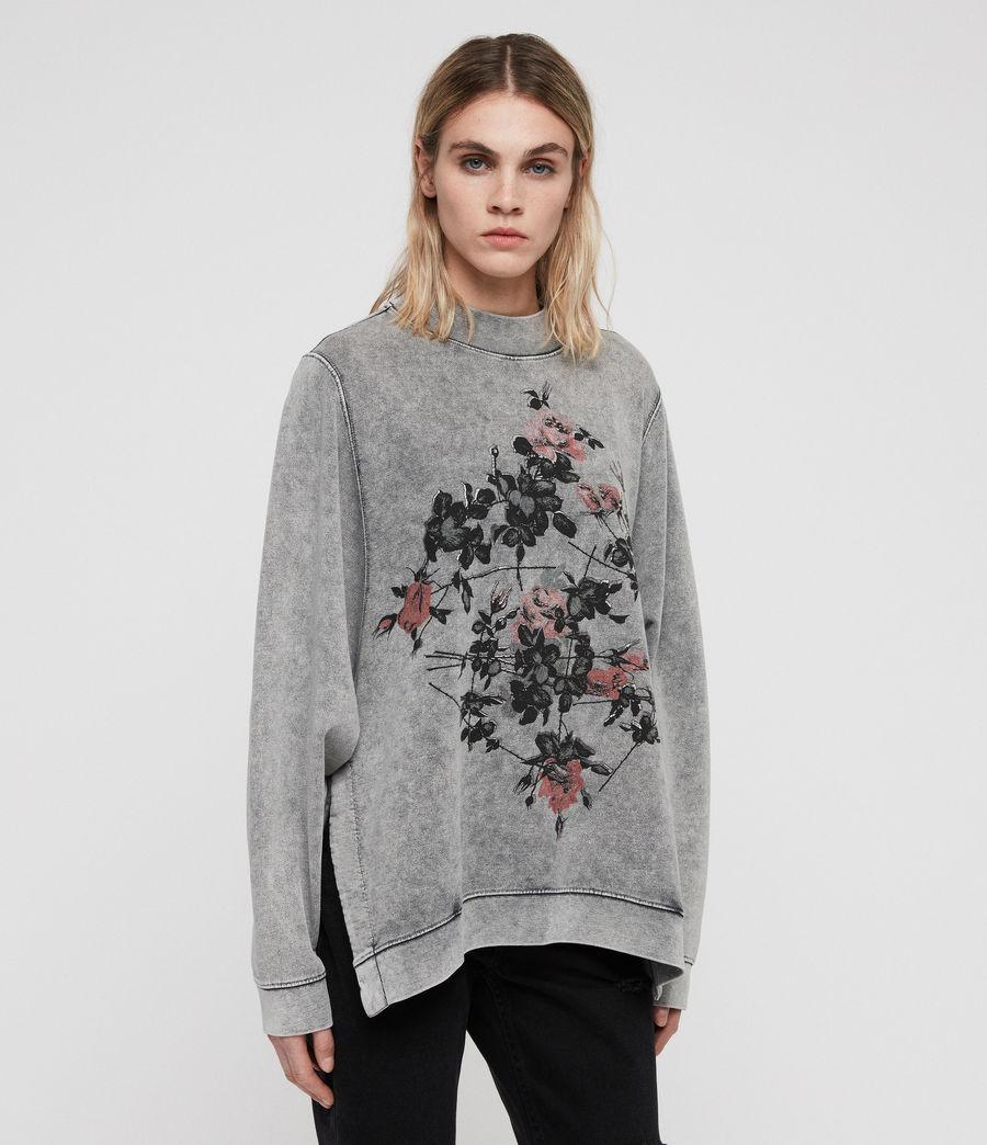 Womens Syner Leti Frieda Sweatshirt (grey) - Image 4