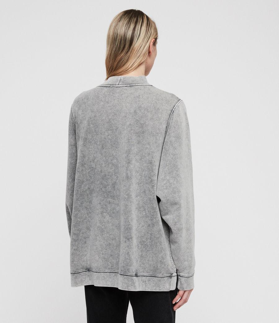 Womens Syner Leti Frieda Sweatshirt (grey) - Image 5