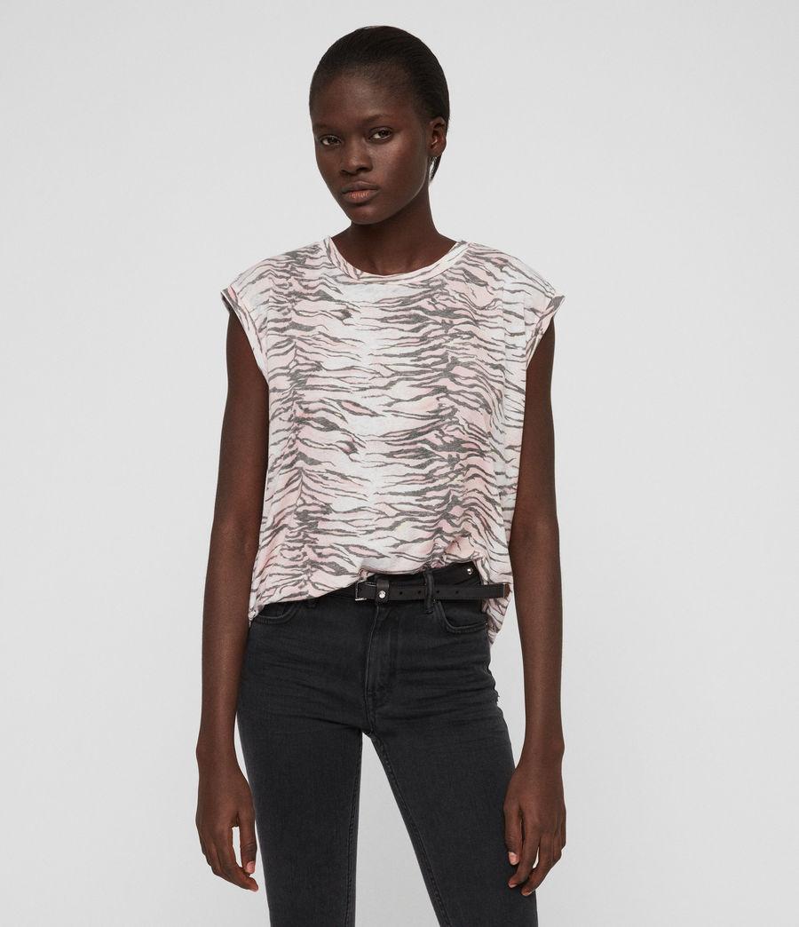 Mujer Camiseta Brooke Tygers (pale_pink) - Image 1