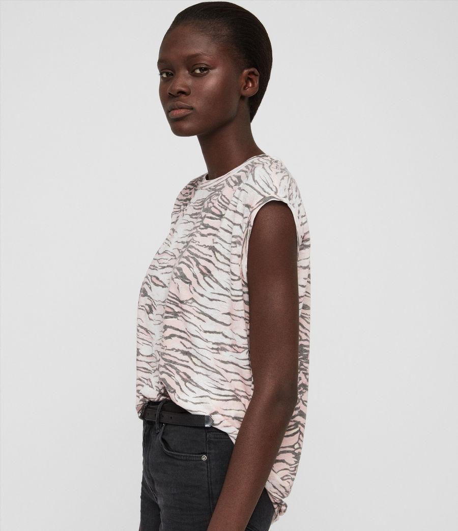 Womens Tygers Brooke T-Shirt (pale_pink) - Image 2