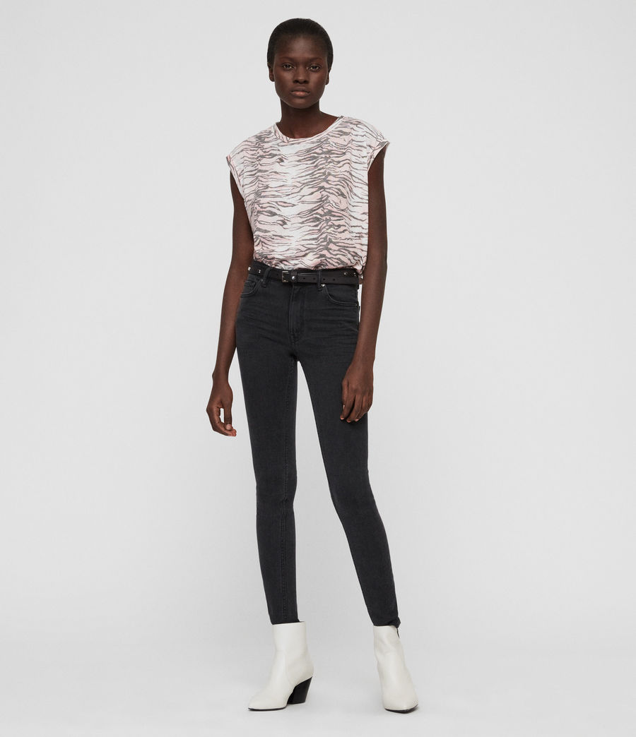 Mujer Camiseta Brooke Tygers (pale_pink) - Image 3