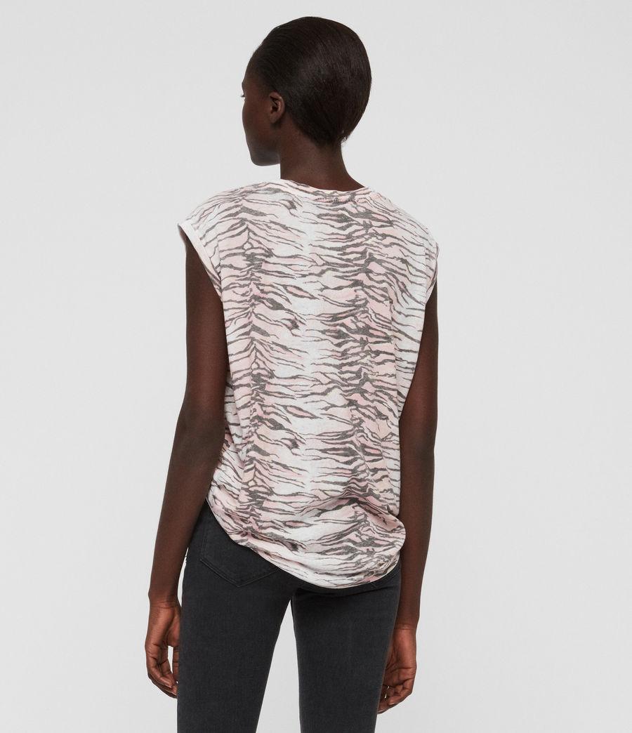 Mujer Camiseta Brooke Tygers (pale_pink) - Image 4