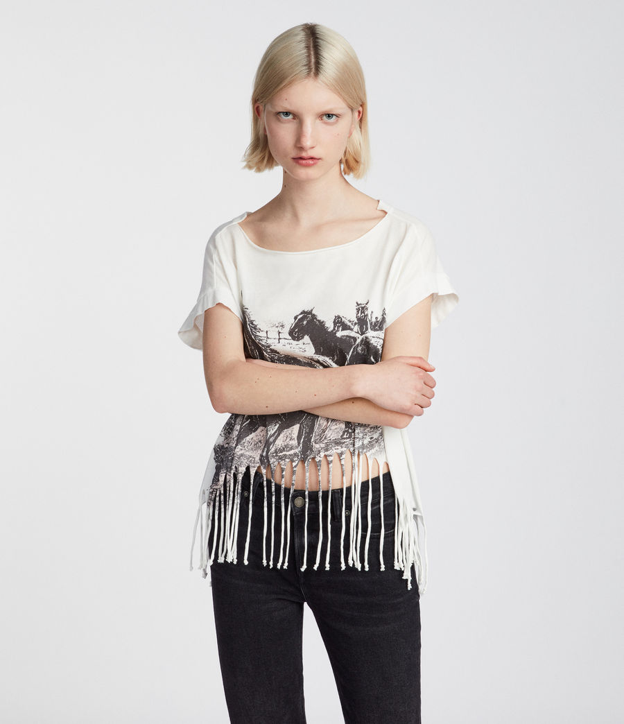 Damen Riders Tami Pina T-Shirt (chalk_white) - Image 1