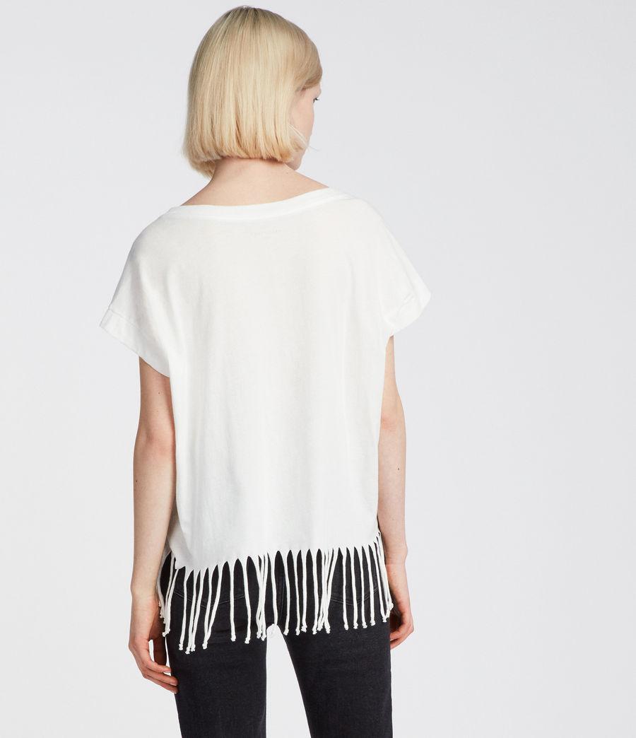 Women's Riders Tami Pina T-Shirt (chalk_white) - Image 3