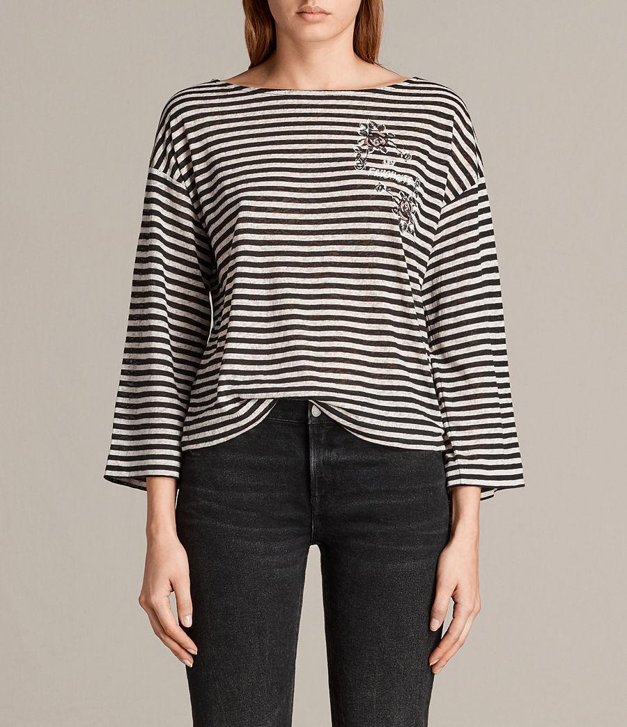 Women's Fave Nova T-Shirt (black_chalk) - Image 1