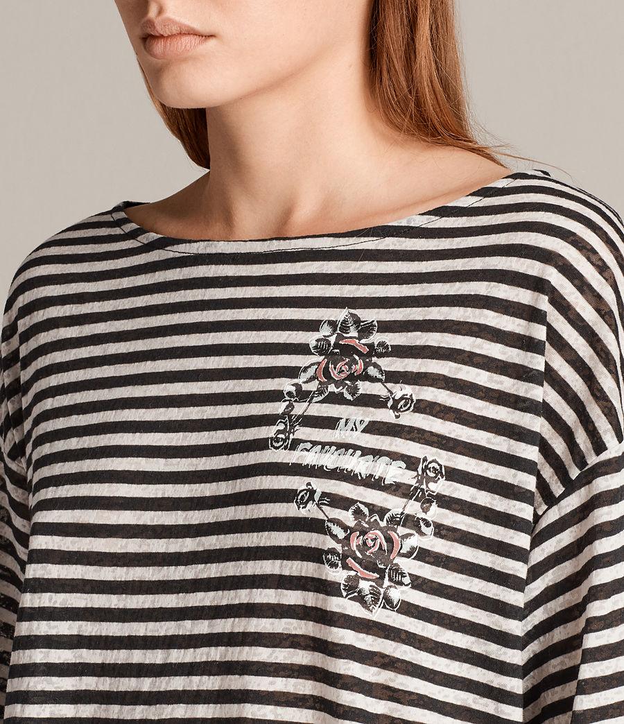 Women's Fave Nova T-Shirt (black_chalk) - Image 2