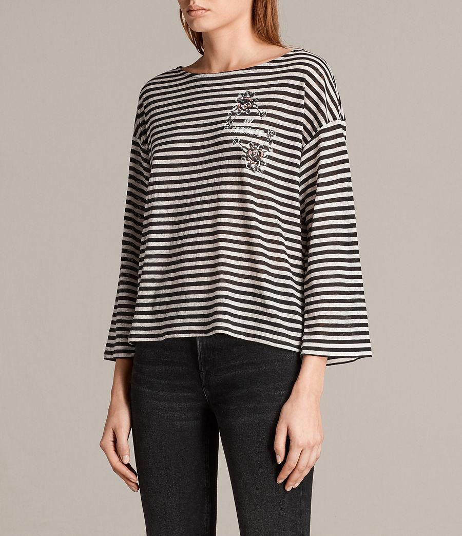 Women's Fave Nova T-Shirt (black_chalk) - Image 3