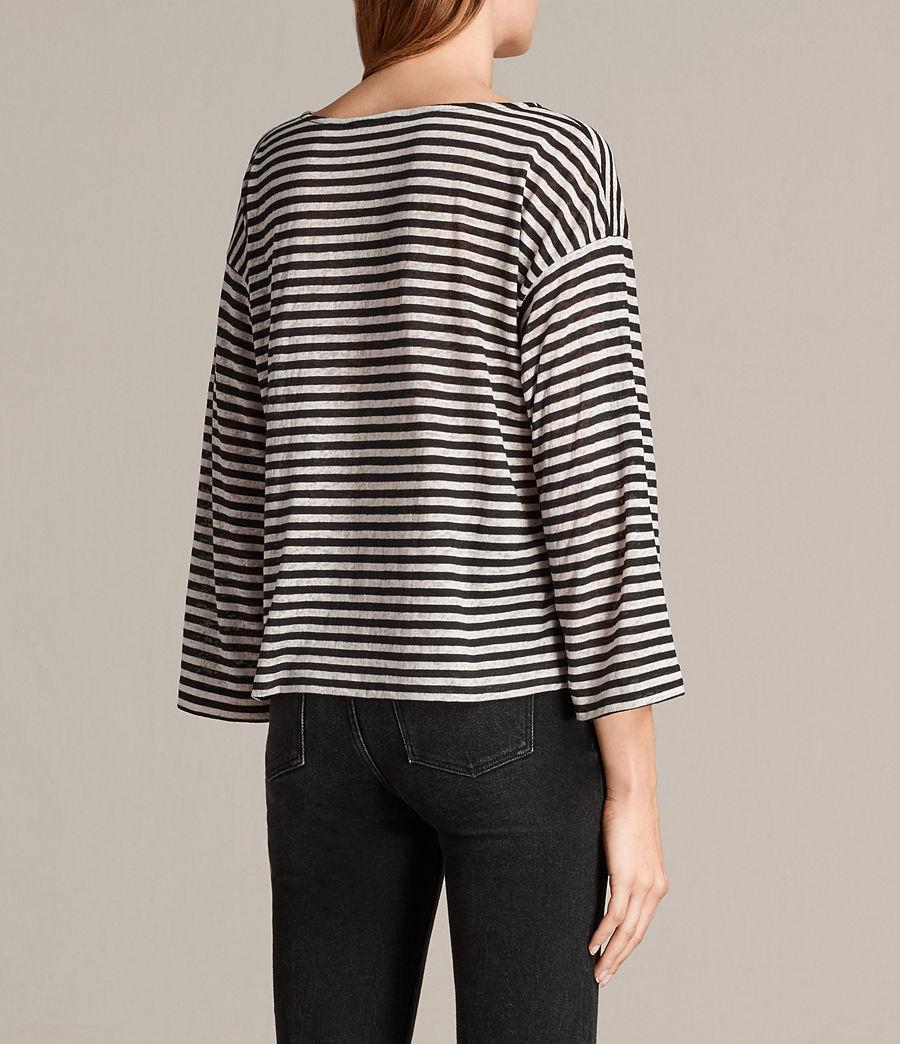 Women's Fave Nova T-Shirt (black_chalk) - Image 4