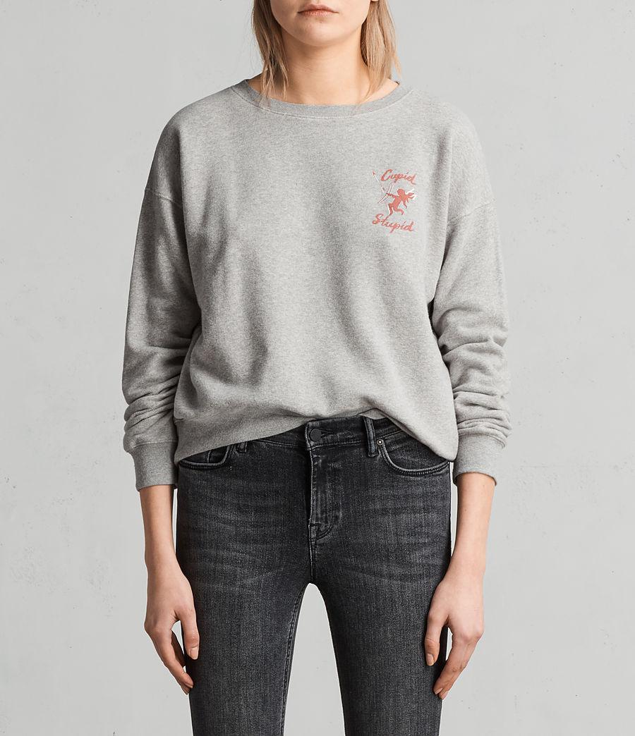 Women's Cupid Laurel Sweatshirt (grey_marl) - Image 1