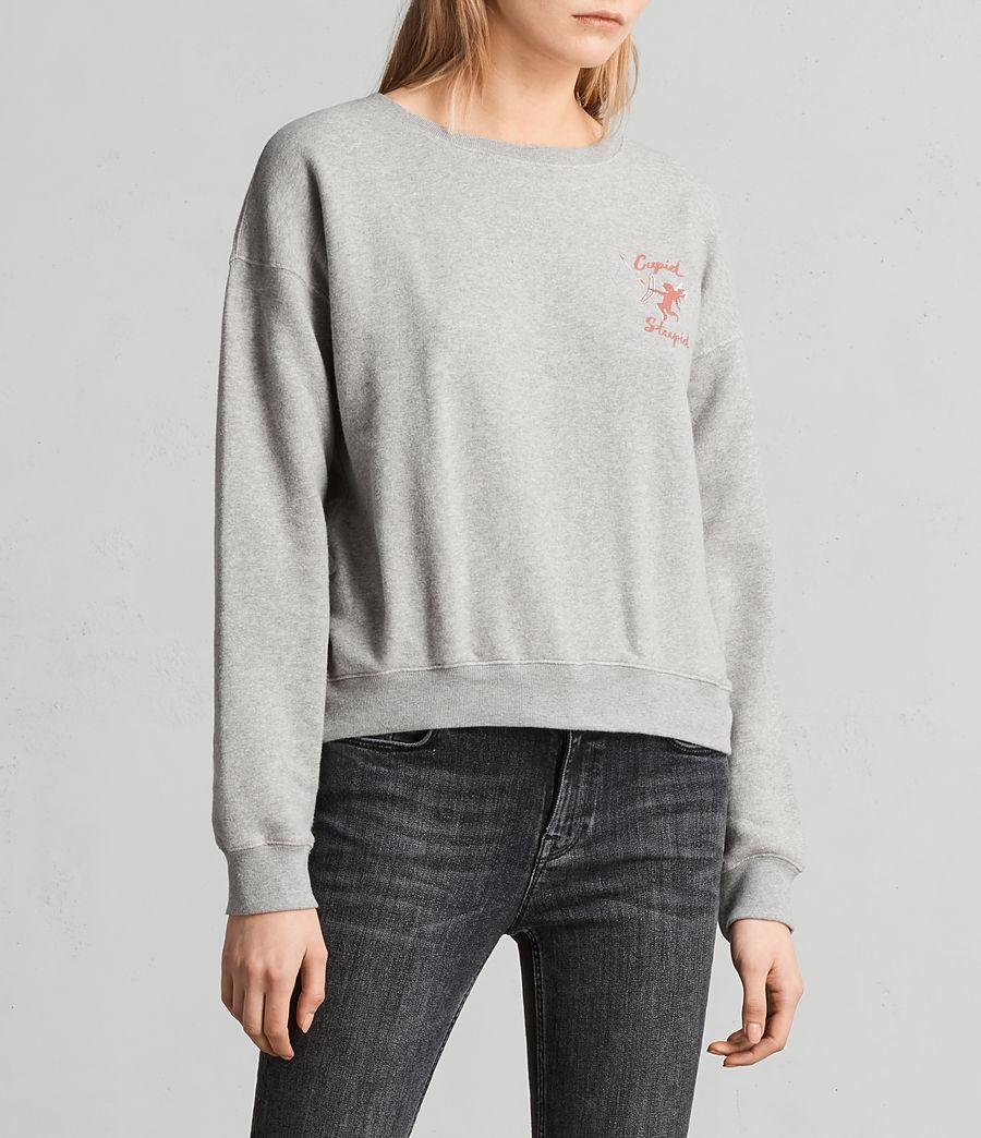 Women's Cupid Laurel Sweatshirt (grey_marl) - Image 3