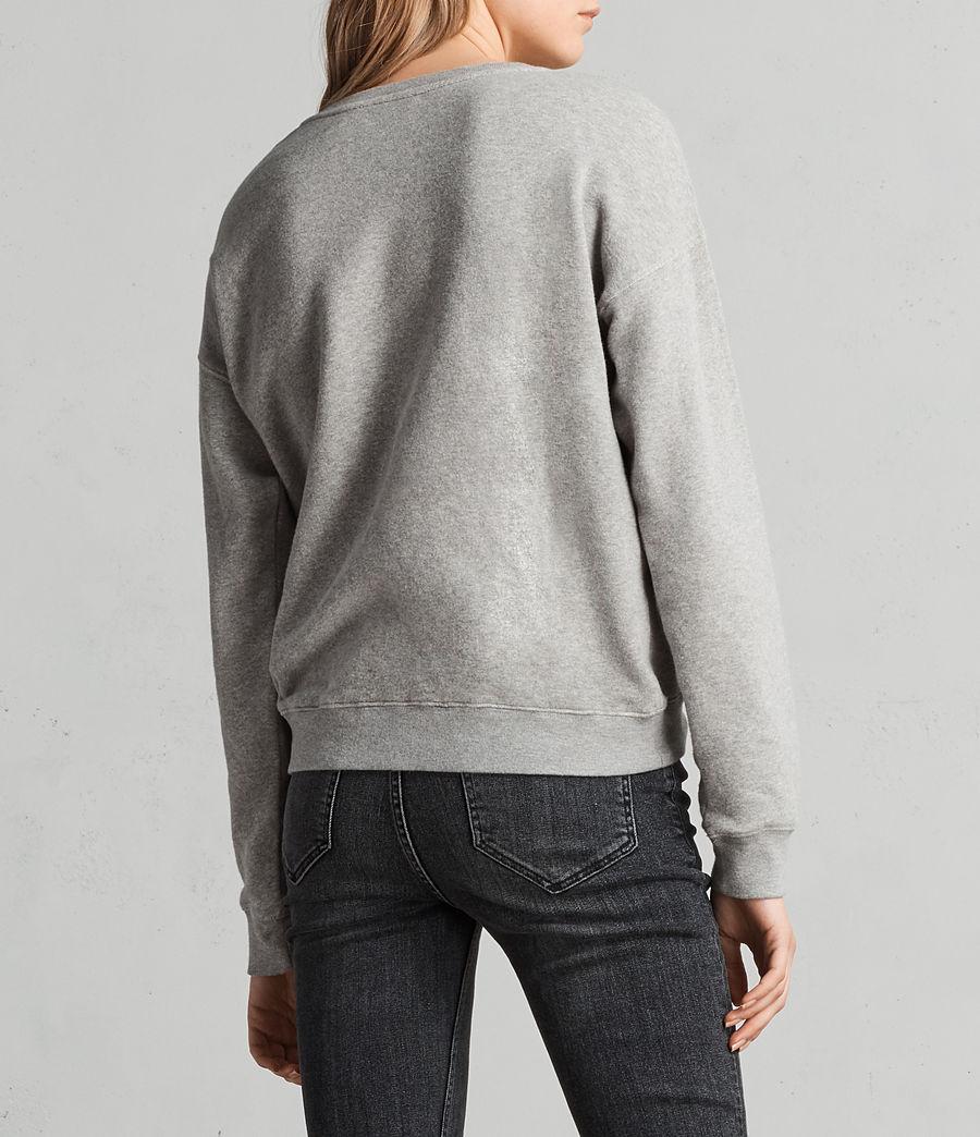 Women's Cupid Laurel Sweatshirt (grey_marl) - Image 5