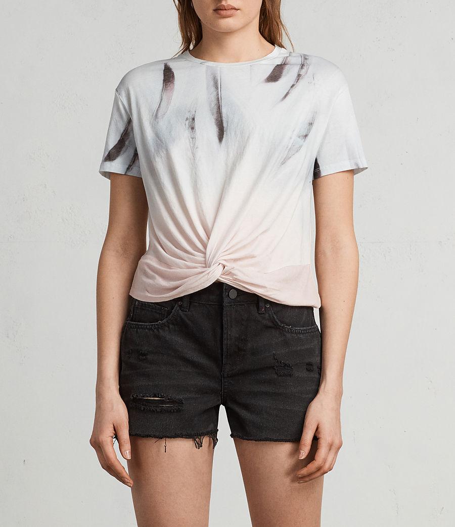 Women's Plume Carme Tee (chalk_white) - Image 1