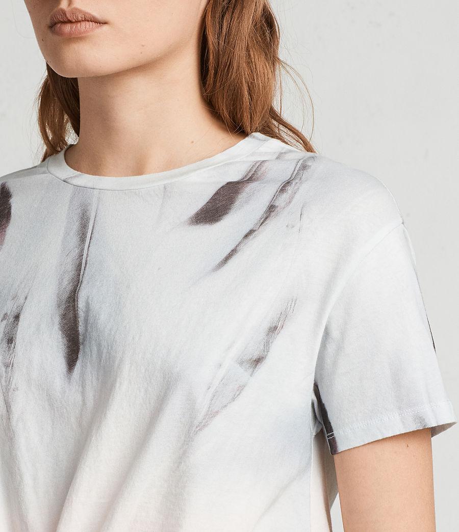 Women's Plume Carme Tee (chalk_white) - Image 2