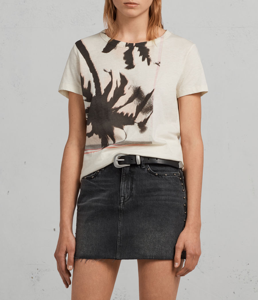 Womens Bahia Joy T-Shirt (vintage_white) - Image 1