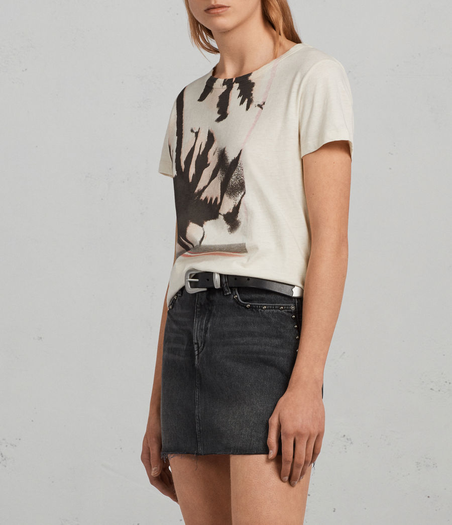 Womens Bahia Joy T-Shirt (vintage_white) - Image 3