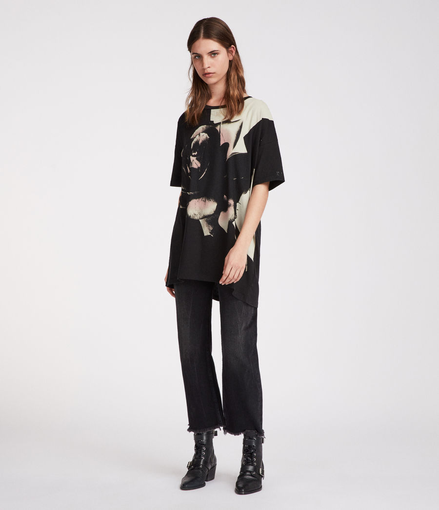 Women's Rosalita Cori T-Shirt (black) - Image 2