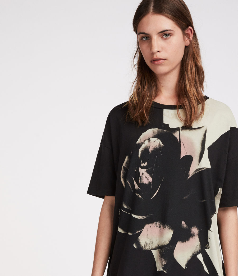 Women's Rosalita Cori T-Shirt (black) - Image 3