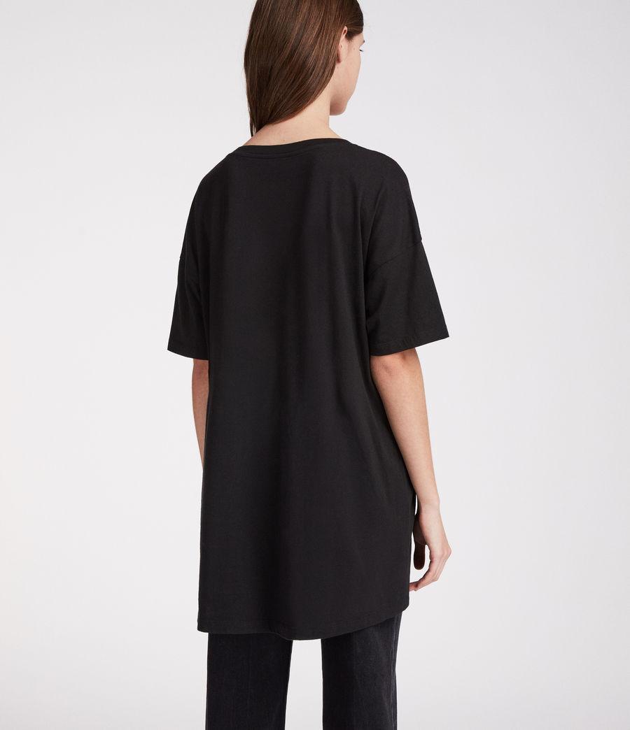Women's Rosalita Cori T-Shirt (black) - Image 4