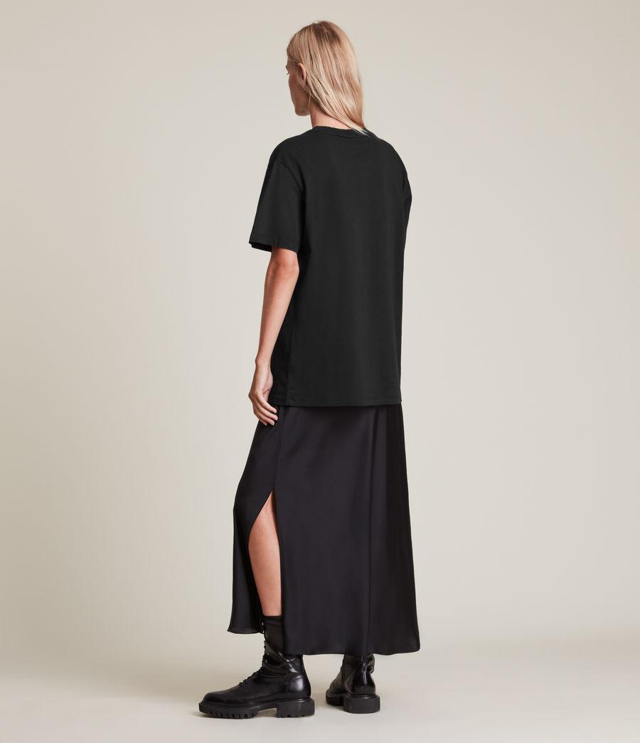 Women's Vexillum Boyfriend T-Shirt (black) - Image 4