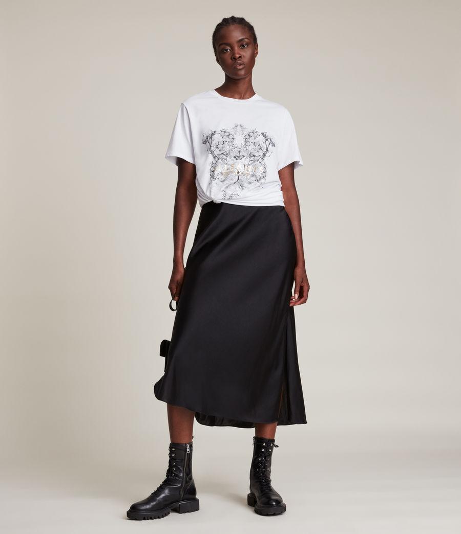 Damen Vigeo Boyfriend T-Shirt (optic_white) - Image 2