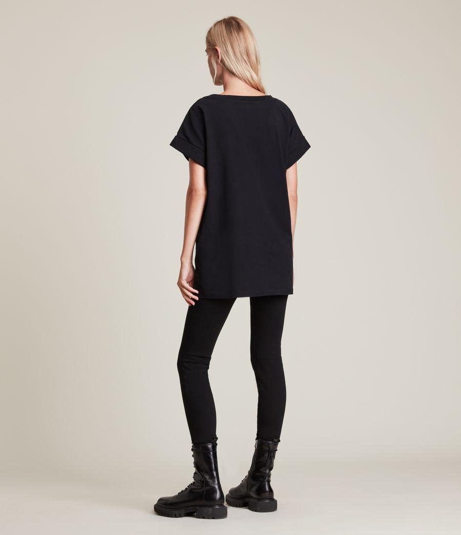 Women's Lia Imogen Boy T-Shirt (black) - Image 4