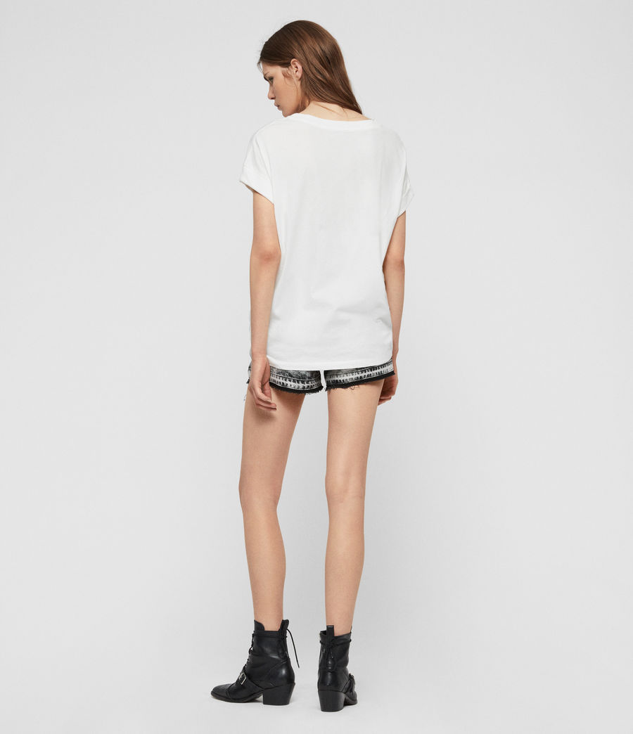 Mujer Camiseta Imogen Boy High Gaze (chalk_white) - Image 5
