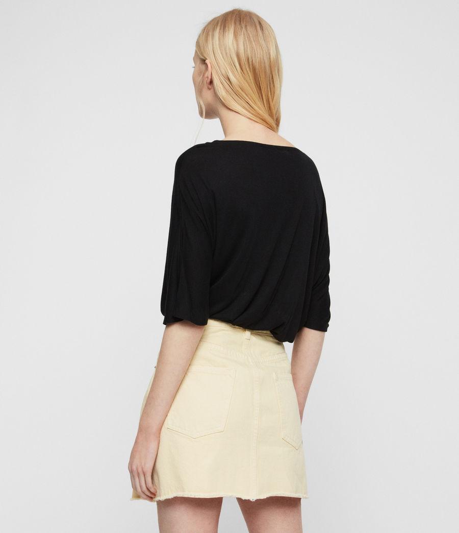 Womens Eagle Dreams T-Shirt (black) - Image 4